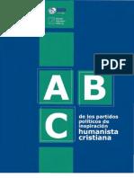 Folleto de bolsillo ABC publicación del INCEP de Guatemala