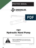 767 hand pump