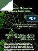 Katak Menurut Al-Quran Dan Kaitannya Dengan Sains