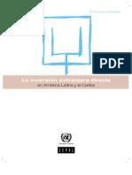 La Inversión Extranjera Directa en América Latina 2011 -Cepal