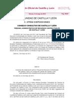 Convenio de Colaboración entre el Tribunal y el Consejo de Cuentas de Castilla y León sobre atribución de competencia de recursos contractuales
