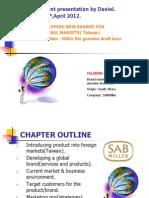Global Marketing Ppt Brand Management