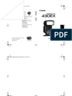Speedlite 430EX UG RU Production