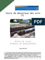 rideaux palplanches 2007