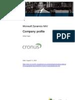 Cronus Company Profile