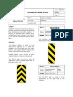 66hazard Marker Signs