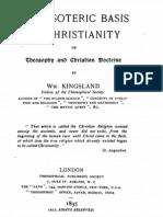 Kingsland, Theosophy and Christian Doctrine, London, 1895
