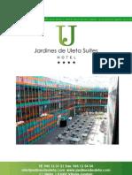 Presentación Hotel Jardines de Uleta Suites