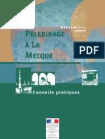 Informations du Ministère des Affaires Étrangères Français à destination des pèlerins se rendant à La Mecque