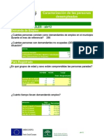 Informe Parados en Abril 2012