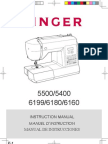 Singer 6180 Brillance Manual