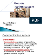 Hospital Communication System New