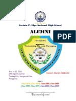 JPENHS 5th Grand Alumni Homecoming 2012 Program