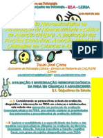 Av. Neuropsic. da PHDA em Crianças e Adolescentes - Paulo José Costa