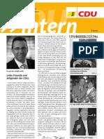 CDU intern Mai 2012