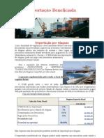 Importação Beneficiada - Alagoas