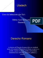 Evoluciondel Derecho Romano