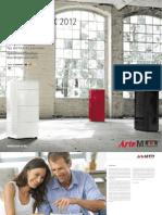 Arte M Roombook 2012 - modern német elemes bútor és lakásfelszerelés