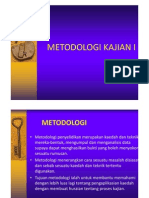 Metodologi Kajian I