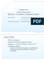 McCabe's Cyclomatic Complexity Number_Software Measurement