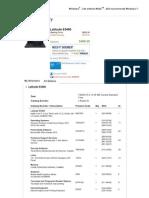 Dell Latitude E5400 Specifications