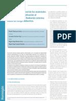 2011 Radiactividad natural de los materiales Aplicación al hormigón Parte I Radiación externa_índice de riesgo radiactivo