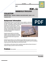 Parabolic Trough Design