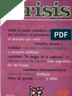 "Revista ""Crisis"" nº 39 (Julio de 1976) con reportaje al P. Castellani"