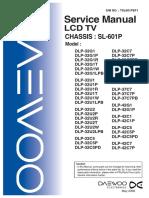 Sl601p Service Manual