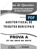 Auditor Fiscal_21 Abril_prova A