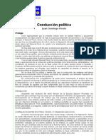 PRIMERO - Conducción Política - PERÓN
