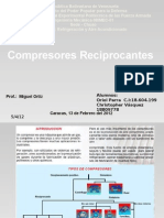 Presentacion de Comp Re Sores Reciprocantes
