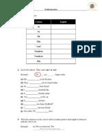 all about quizlet 1 | Grammatical Conjugation | Languages