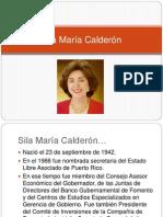 Sila Mar+¡a Calder+¦n y Anibal Acevedo Vila