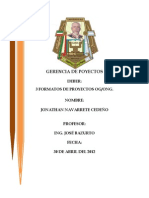 GERENCIA DE POYECTOS
