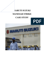 Maruti Case Study
