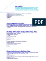 Codigos HTML