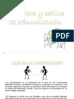 Elementos y Estilos de Comunicacion