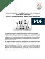 Pressemitteilung zur KEF R Serie in Weiß