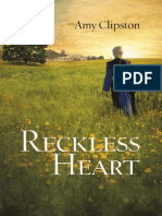 A Reckless Heart by Amy Clipston