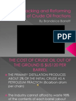 The Cracking and Reforming of Crude Oil Fractions Presentation