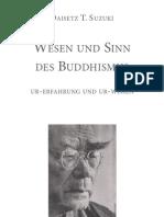 Buddhism, Suzuki, Daisetz T. - Wesen Und Sein Des Buddhism Us