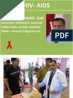 HIV-AIDS by Dr Bashir Associate Professor Medicine Sopore Kashmir
