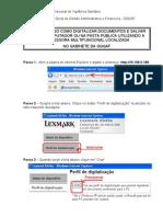 Passo a Passo Para Digitalizar Lexmark 646
