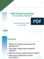 Presentations State Energy Forecasting