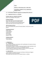 Programa preliminar 2012