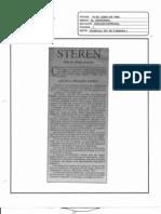 """""""STEREN""""-19 de Junio de 1996-El Universal Edición Especial"""