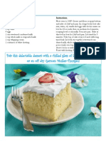 Cinco de Mayo Wine Pairing for Tres Leches Cake
