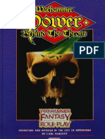 Warhammer FRP - Adv - Enemy Within 4 - The Power Behind the Throne