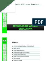 Técnicas de Acción Educativa